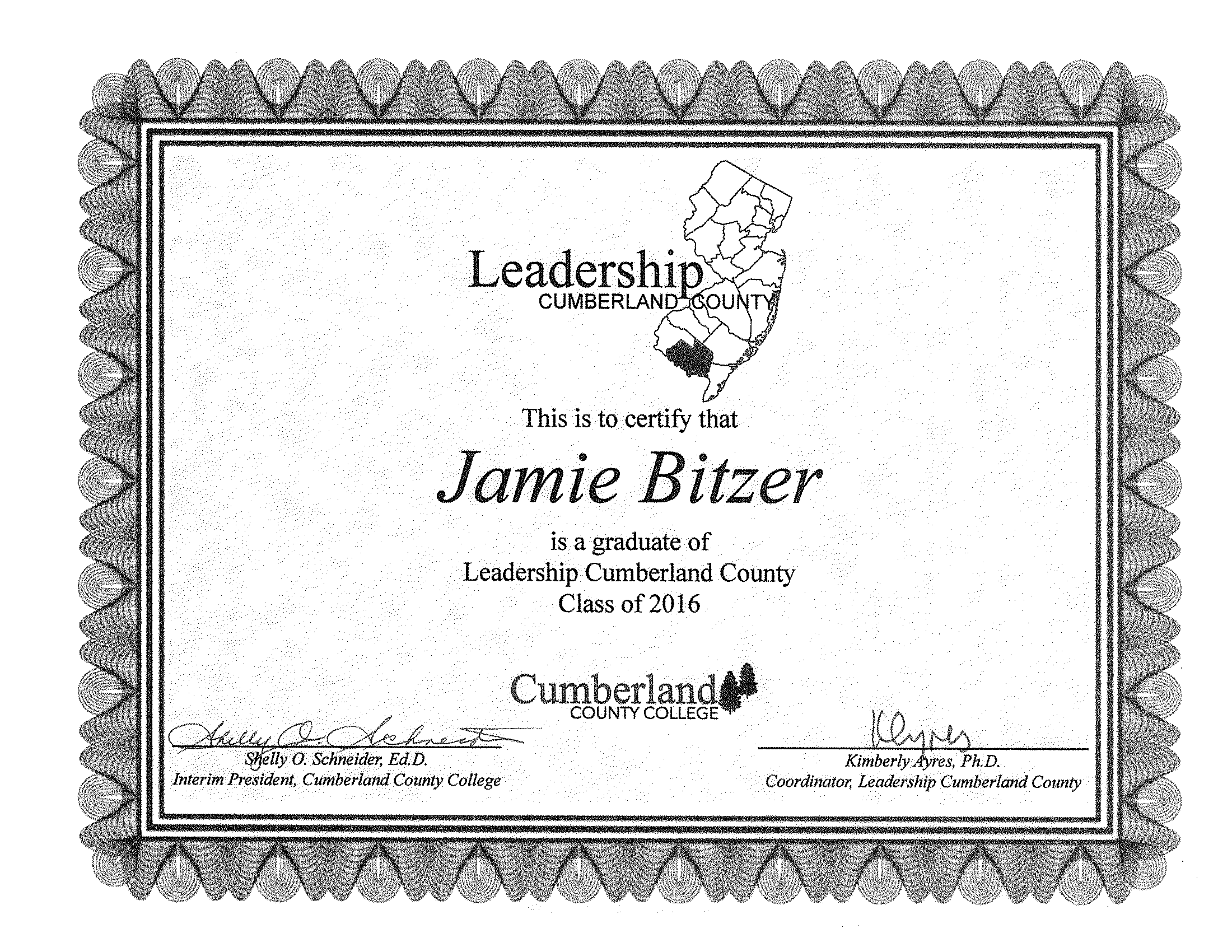 JB CCC Leadership Degree